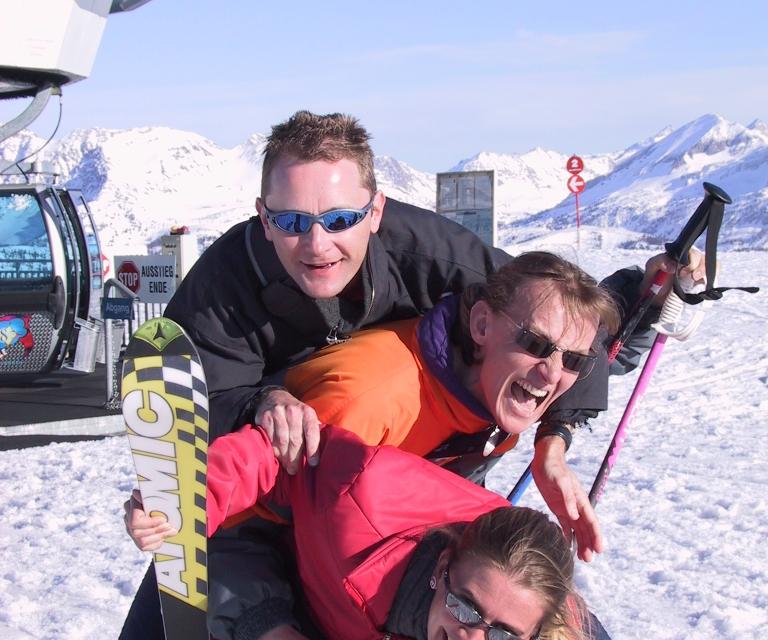 EFSC Skifahren Flachau 2004